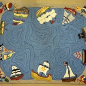 Toy Boats for a New Jersey shore Den