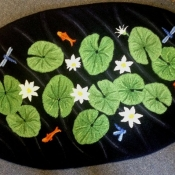 Pond with Lilly pads