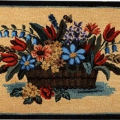 Antique Flower Basket 29
