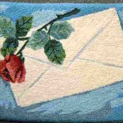Envelop With Rose 20