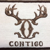 Logo for a ranch in Texas A gift from our client to the hunting lodge