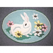 Bunny with Daises # 1866