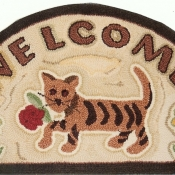 Cat Tiger Welcome # 8672