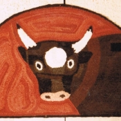 Tavern Sign Cow # 8686